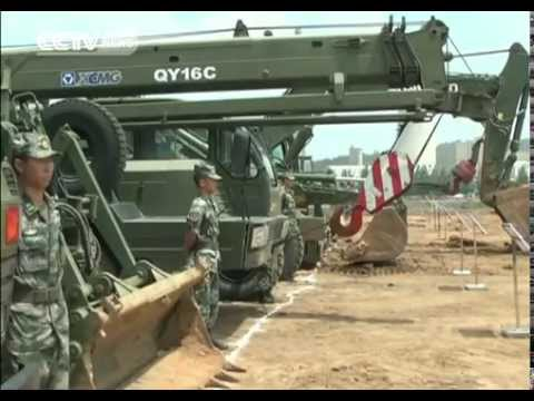 China's Defense Ministry Trains UN Peacekeepers