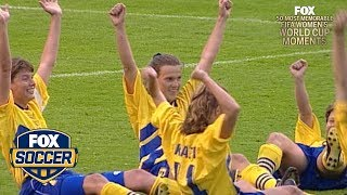 15th Most Memorable Women's World Cup™ Moment: Sweden's epic comeback | FOX SOCCER