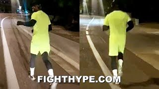 MAYWEATHER HITS THE STREETS RUNNING; NO NIGHTS OFF AFTER FULL DAY OF PARTYING & SOUL FOOD IN ARIZONA