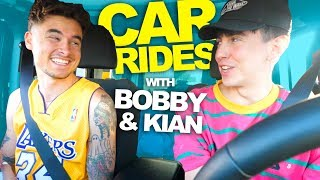 CAR RIDES with BOBBY and KIAN (A Hero's Story)