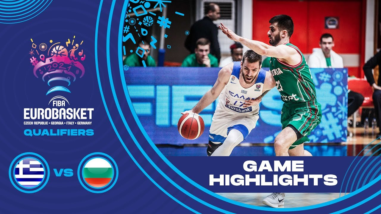 Greece v Bulgaria - Highlights - FIBA EuroBasket 2022 - Qualifiers