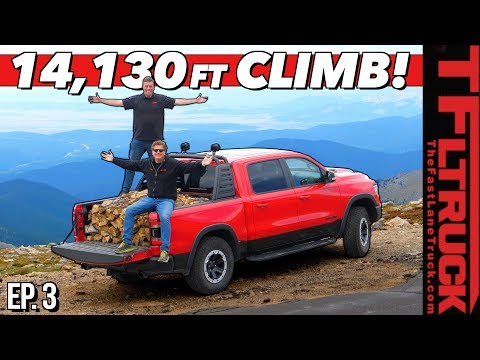 Don't Look Down! We Drive a Fully Loaded Ram Up America's Highest Road | Torture Test Ep.3