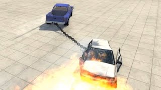BeamNG.drive - Giant Chain (Torsions Vehicle-to-Vehicle Couplers)