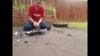Smashing a DVB-T Freeview UK box - Part 2