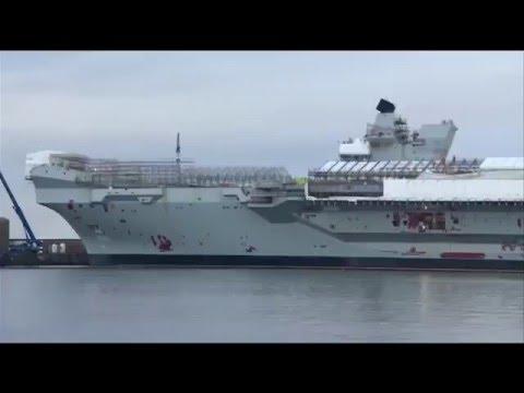 Carrier Queen Elizabeth update, 2015