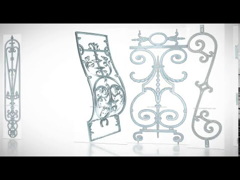 Balaustres ornamentales de fundici n forja domingo - Forja domingo torres ...