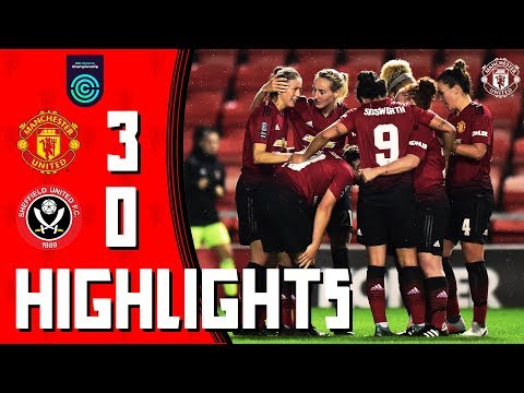 HIGHLIGHTS | Manchester United Women v Sheffield United Women | FA Women's Championship thumbnail