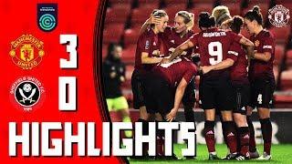 HIGHLIGHTS | Manchester United Women v Sheffield United Women | FA Women's Championship