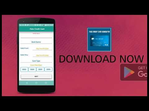 fake credit card maker prank android apps on google play