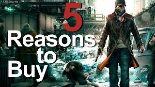 5 Reasons to Buy Watch Dogs Playstation 4 (PS4)