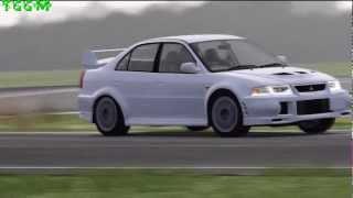 (HD) - Forza 4 - Top Gear - Car Test - 1999 Mitsubishi Lancer EvoLution VI GSR