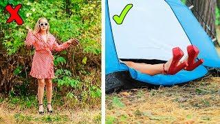 16 Camping Streiche und Life Hacks