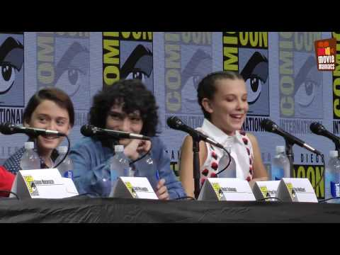 Stranger Things Panel at Comic-Con 2017