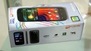 Micromax a89 review and unboxing - dual core handset