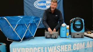 Hydrocell Washer: Troubleshoot an Air Lock