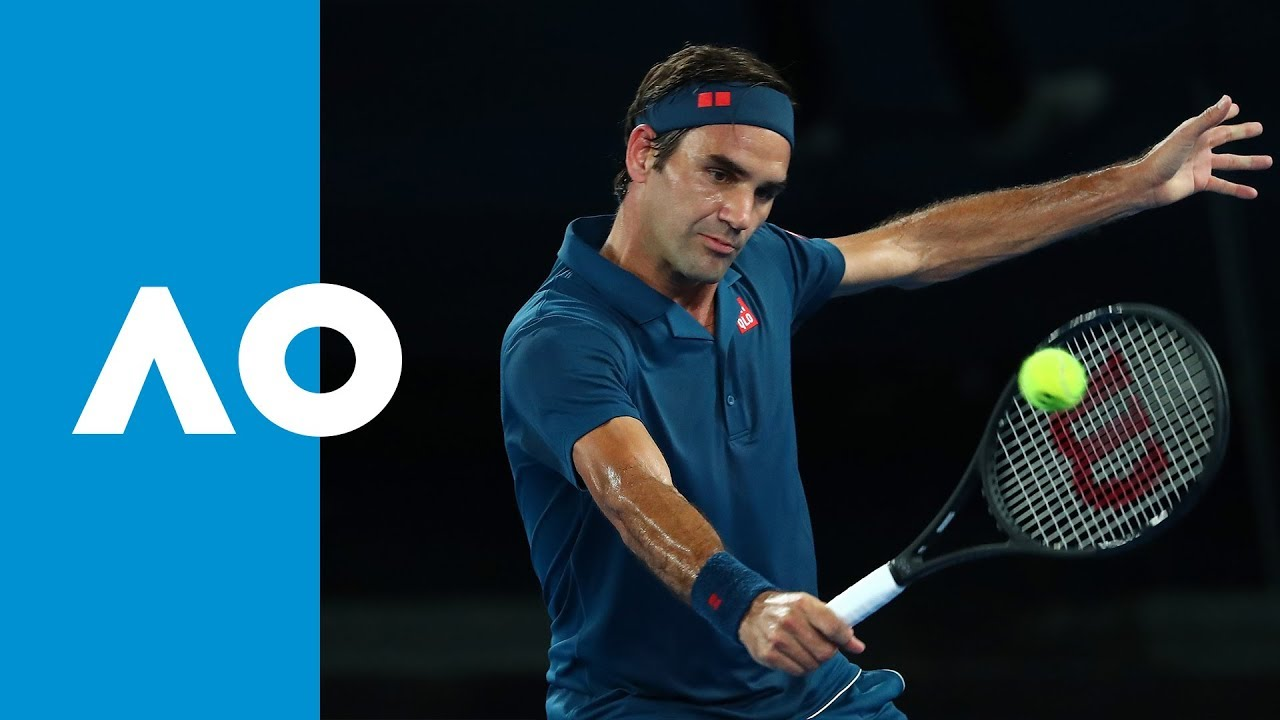 6f7df93a CPA Shot of the Day: Roger Federer | Australian Open 2019 - YouTube