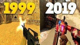 Evolution of Counter - Strike 1999-2019