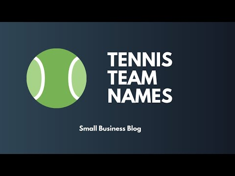 Best Crazy Tennis Team Names