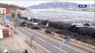 صور درامية للتسونامي الذي ضرب اليابان