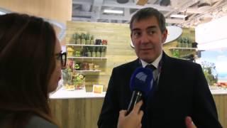 Declaraciones del presidente del Gobierno de Canarias, Fernando Clavijo