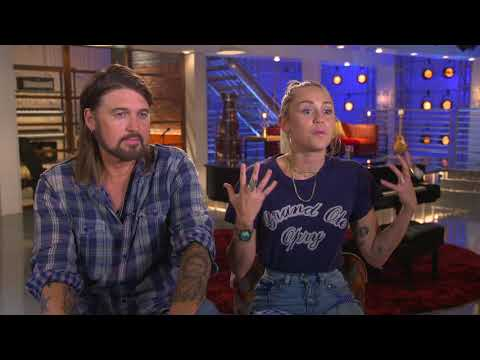 Miley Cyrus and Billy Ray Cyrus Talk The Voice & Team Miley
