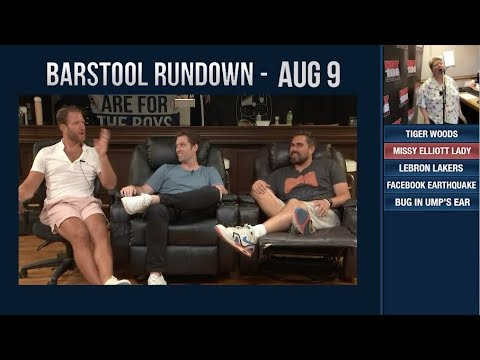 Barstool Rundown - August 9, 2018