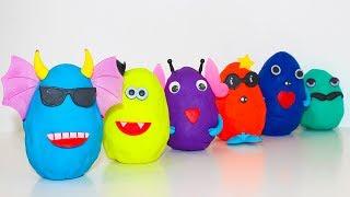 Сюрпризы Герои в масках Игрушки Щенячий патруль новые серии Обучающие мультики для детей Учим цвета