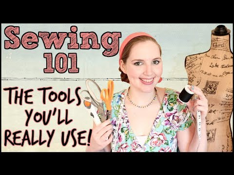 Sewing Basics: The Sewing Tools And Equipment You Really Need! | Sewing 101