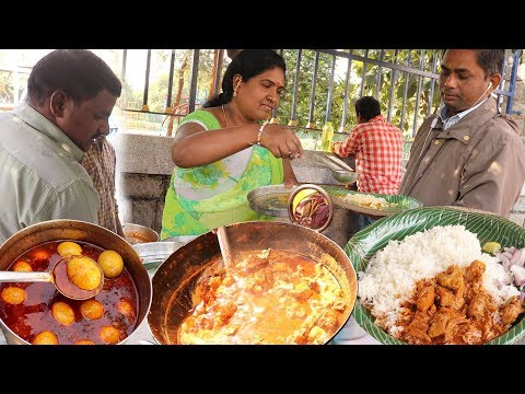 download Unlimited Nonveg Meals $ 0.8   Indian Street food   #Streetfood