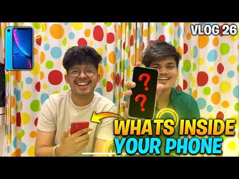 What's Inside Your Phone With TWO SIDE GAMERS || Ft. ChotuLal Show - Vlog 25