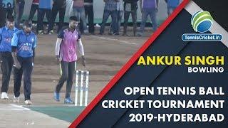 Ankur Singh Bowling |Final Over in Final Match |  Needed 6 ball 10 Runs