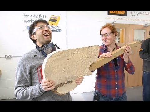 April Wilkerson & Matt Cremona Custom Electric Guitar Build - DAY 1