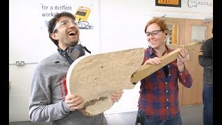 April Wilkerson & Matt Cremona Custom Electric Guitar Build - DAY 1