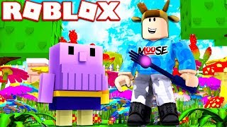 ROBLOX GARDENING SIMULATOR! *OVERPOWERED GOD HAND, THANOS PET & MORE!*