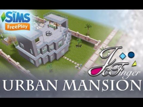 Sims FreePlay (Original Design) Urban Mansion By Joy.