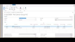 How to Convert Sales Quotes into Orders and Invoices in Dynamics 365 for Financials