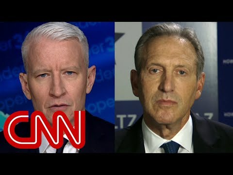 Cooper to Schultz: Do you know how to beat Trump?
