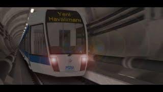 Gayrette İstanbul Yeni Havalimanı Metrosu