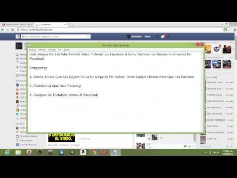 Tutorial: Instalar Los Nuevos Emoticones De Facebook.