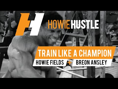 Breon Ansley IFBB Pro Mr. Olympia Classic Bodybuilding 2016 Workout and Training | Howie Hustle