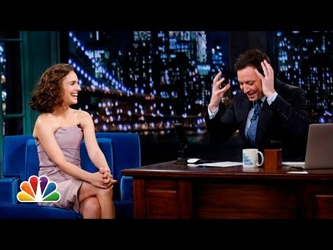 Natalie Portman Is Moving to France (Late Night with Jimmy Fallon)