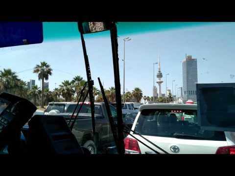 Kuwait city bus journey