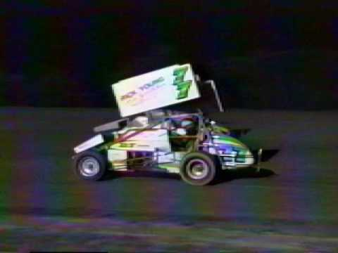 World of Outlaws at Rolling Wheels Raceway early 90s