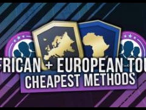 FIFA 17 *NEW* SBCs OUT TODAY *CHEAPEST* METHODS EUROPEAN TOUR + AFRICAN TOUR