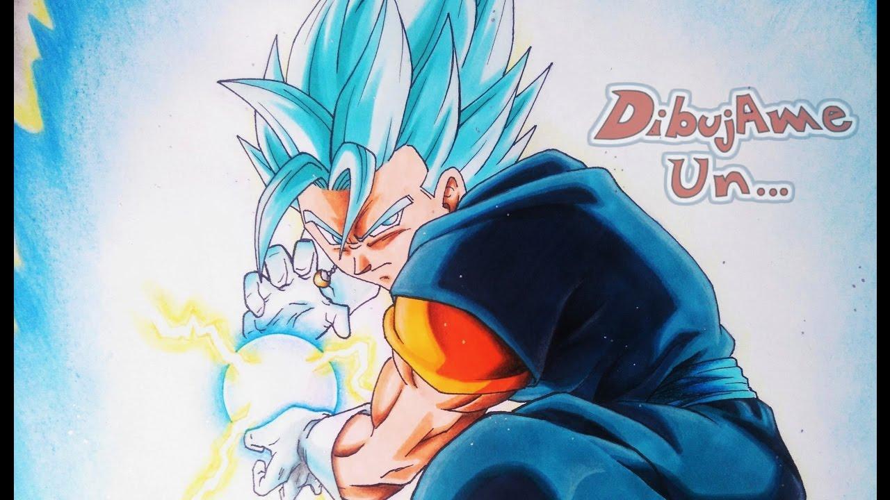 Como Dibujar A Vegetto S Saiyan Blue Dragon Ball Super Capitulo 66