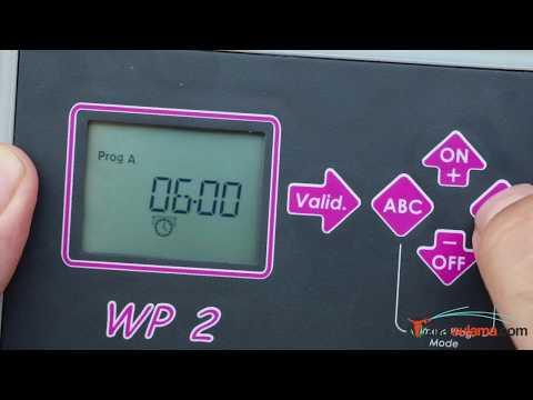 Rain Bird WP 2 Pilli Kontrol Ünitesi Nasıl Ayarlanır?