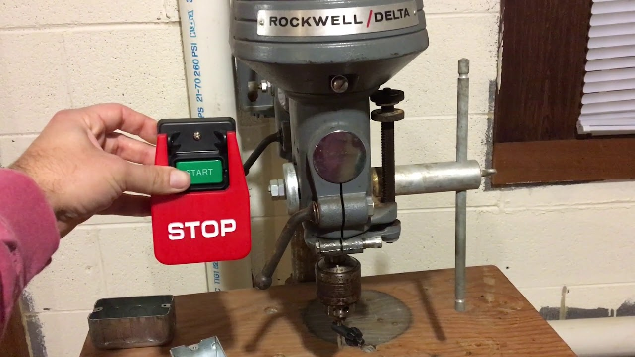 Push Button Switch Button Drill Press Switch Bench Grinder Switch