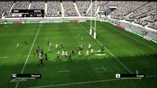 Rugby World Cup Game Exclusive England v New Zeland HD Xbox