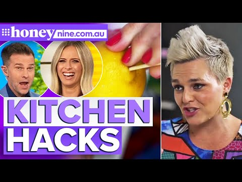 These FIVE kitchen hacks will change your life | 9Honey