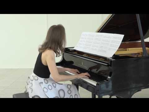 Anna Sutyagina plays Etude Nr 9 by Irminsul